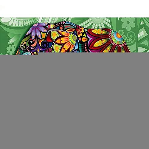 5D-Diamant-Malerei-Set für Erwachsene und Kinder, Elefanten-Bilder, Diamantkunst, Strass-Stickerei, Kreuzstich für Zuhause, Wanddekoration, runde Diamanten, 30 x 40 cm