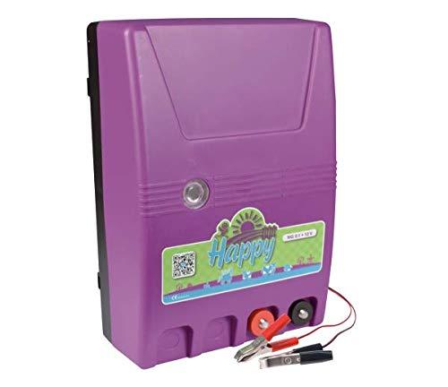 horizont 10929li électrique – Happy Batterie de clôture électrique NG 2.1 12 V, Violet