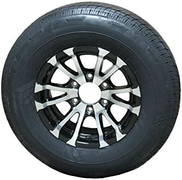 Radial Trailer Tire On Rim Boston Mall ST225 Spring new work one after another 75R15 6 Aluminum D Lug Load T07