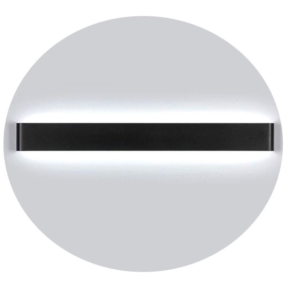 Ralbay Aplique Pared LED Interior Diseño Moderno 30W Blanco Frio 6000K Lámpara de Pared para Salon Pasillo Escalera Dormitorio Baño Longitud 32.67IN: Amazon.es: Iluminación