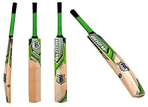 BOOM PLUS 10000 Grade 1 English Willow Cricket Bat (ADULT) Professional Adult BAT (FREE UK SHIPPING)