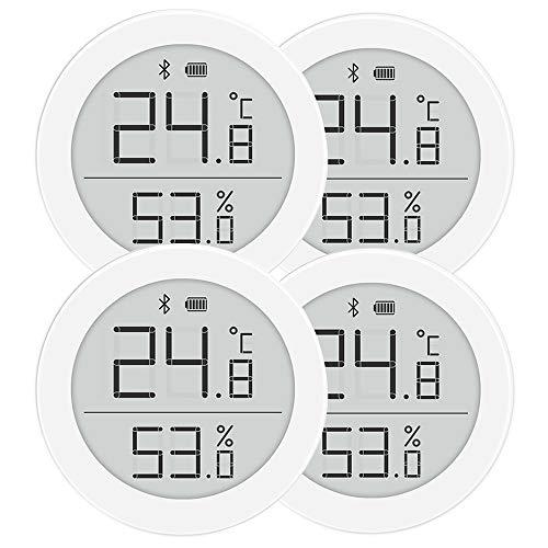 Cleargrass Hochpräziser Bluetooth-Temperatur- und Feuchtigkeitsdetektor H-Version, Babyraummonitor mit 1-Jahres-Knopfbatterie, Unterstützung der Homekit-Smart-Gerätesteuerung (4)
