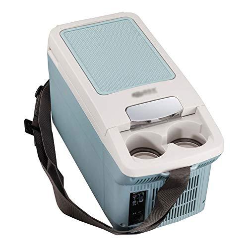 Koelbox voor in de auto, mini-verwarming en koelbox, draagbare armleuning, koelkast, auto en koelkast