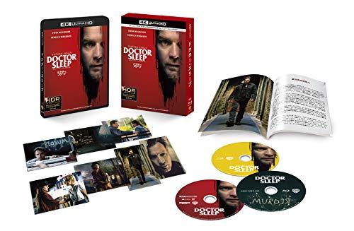 ドクター・スリープ 4K ULTLA HD&ブルーレイセット (初回仕様/3枚組/ディレクターズカット ブルーレイ, ブックレット&ポストカード7枚付) [Blu-ray]