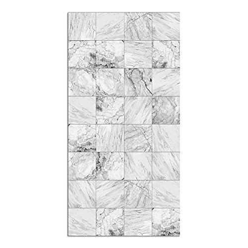 Alfombra Vinílica, Mármol, 160 x 80 x 0.2 cm, Color Beige, ALV-111