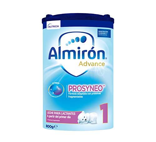 Almirón Prosyneo 1, Leche de Inicio en Polvo para Bebé, a partir del Primer Día, 800g