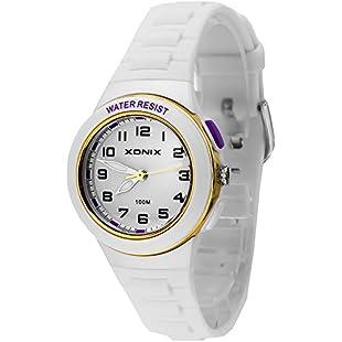 WR100M XONIX Analog Watch, Women's and Girls', Backlight, Nickel-Free, XACO/1