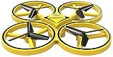 RC Drone Watch Inducción Quadcopter Control Remoto Aviones Inducción de Gestos Presión de Aire Fija Alta suspensión Iluminación Inteligente para Evitar obstáculos para Juguetes de niños (Col