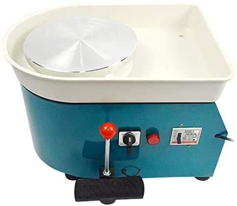 Msylf Máquina de cerámica eléctrica, 25 cm, 350 W, cerámica