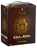 Selection Au Verre - AOP Côtes du Rhône - Vin Rouge - Bag in Box - 3L