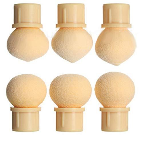 Outils de manucure6 Pièces/set Professionnel Soft Remplacement Éponge D'ongle Blooming Stylet Têtes Soft Manucure Outil Léger