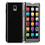 I10S Mini Teléfono Inteligente 4G, Teléfono Móvil De Tarjeta Dual De 3,5 Pulgadas, Teléfono Móvil Ultrafino Para Estudiantes, Sensación Cómoda En Las Manos, Tecnología Fotosensible En 3D(negro)