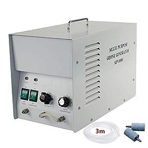 GRASSAIR Ozono Agua y Aire purificador Comercial ozono generador 1G/H Industrial O3 purificador de Aire purificador de Agua desodorizante esterilizador: Amazon.es: Hogar