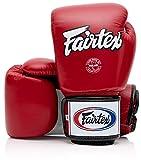 Fairtex Muay Thai - Guantes de boxeo BGV1 10 12 14 473 g, color negro, blanco, rojo, azul, rosa esmeralda...