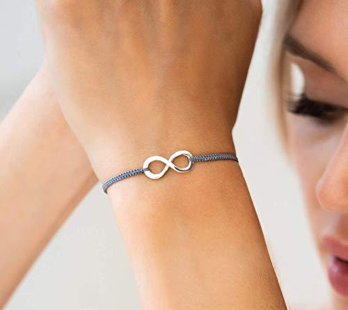 Armband Unendlichkeit Infinity Geschenk 925 silber