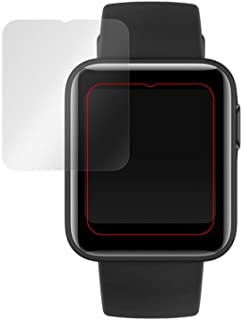 ミヤビックス Xiaomi Mi Watch Lite 用 2枚入 PET製フィルム 強化ガラス同等の硬度 高硬度9H素材採用 日本製 光沢液晶保護フィルム OverLay Brilliant 9H
