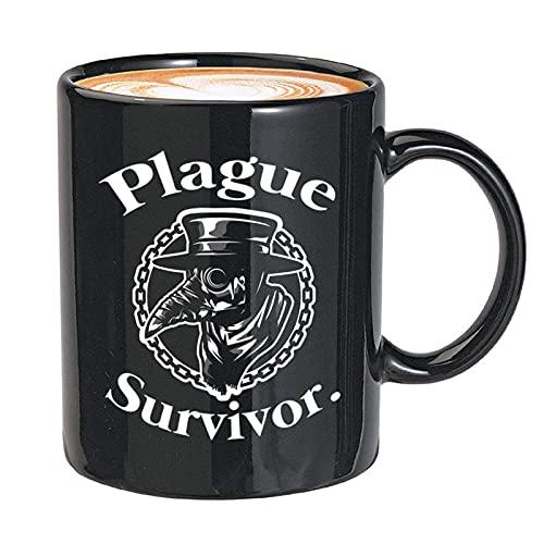 NA Doctor Taza de café Superviviente de la Peste Médico de la...