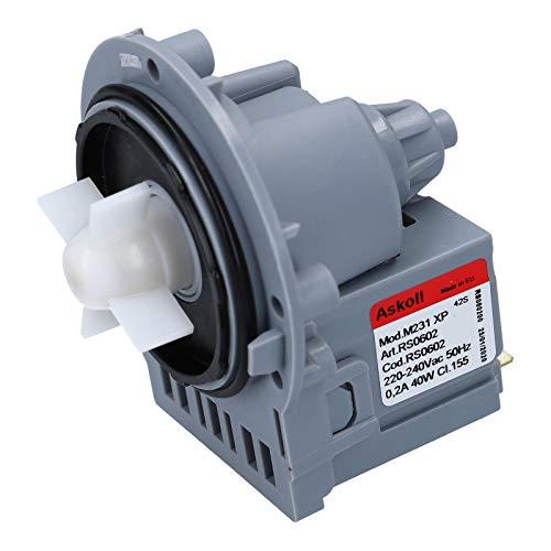Ablaufpumpe Pumpe Universal Waschmaschine Indesit C00144997 Pumpenmotor Askoll