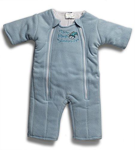 Baby Merlin's Magic Sleepsuit Microfleece (6-9 Months (18-21 lbs.), Blue)