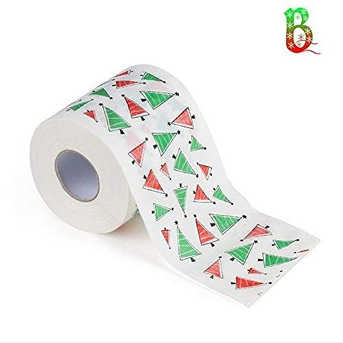Papel higiénico de feliz Navidad, papel higiénico, papel higiénico para Navidad, papel higiénico de Navidad...