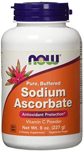 El ascorbato de sodio, polvo de 8 oz (227 g) - Now Foods