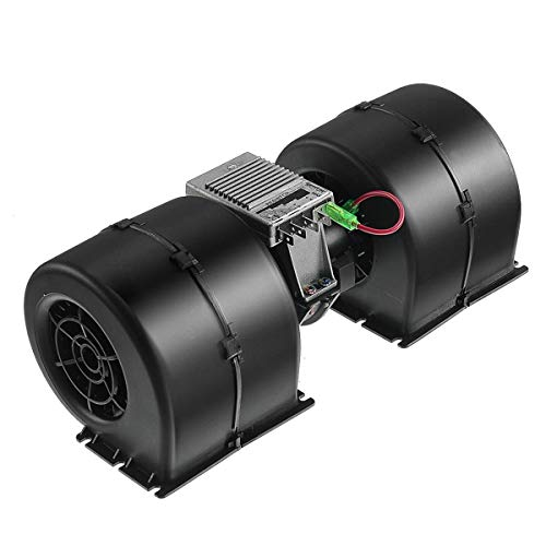 A-Premium HVAC Heater Blower Motor with Fan Cage 12V Replacement for 008-A45-02 26-19939