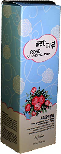 Esfolio Rose Cleansing Foam 5.29 ounces