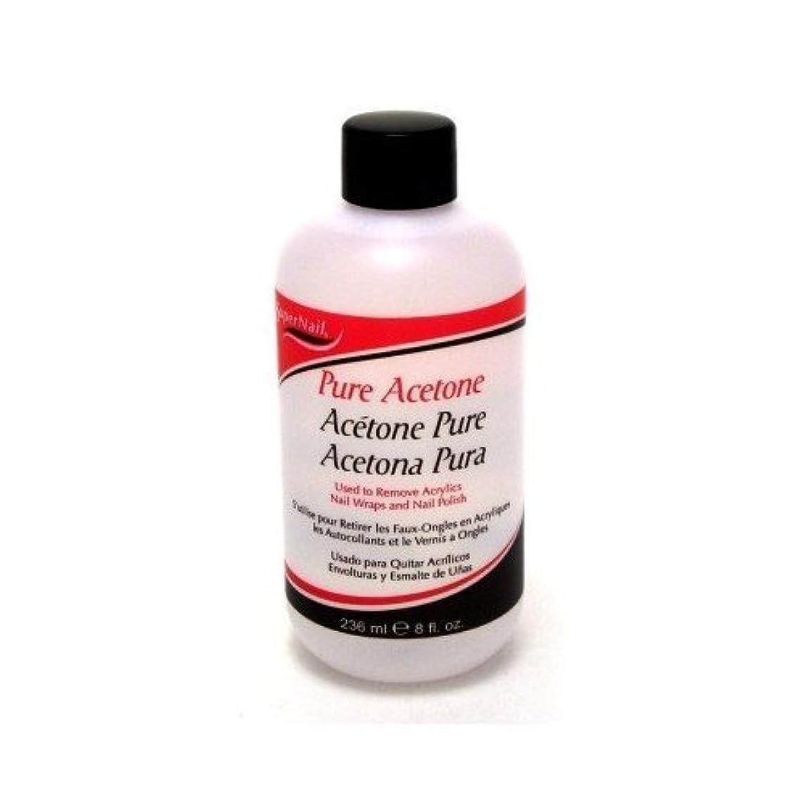 ワゴンアロング年金Super Nail Pure Acetone Polish Remover 235 ml (並行輸入品)