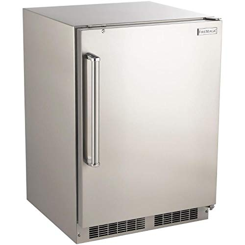 Fire Magic 24-inch 5.1 Cu. Ft. Right Hinge Outdoor Rated Compact Refrigerator - 3589-dr