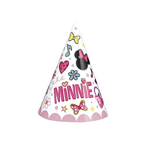 Unique Disney Iconic Minnie Mouse Party Hats [8ct]