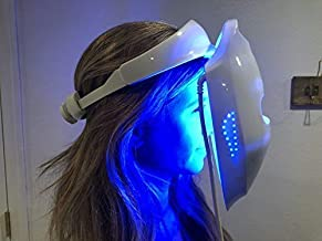 Hydraskincare Photon Therapy Facial Skin Care Treatment Machine Facial Toning Mask - Blue Red Yellow Photon Light