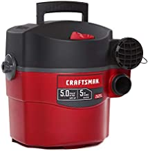 CRAFTSMAN CMXEVBE17925 5 Gallon 5 Peak HP Wet/Dry Wall Vac, Wall-Mounted Shop Vacuum with Attachments