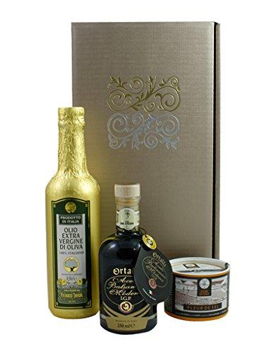 Schlemmerbox (Balsamico Essig & Olivenöl & Salz)