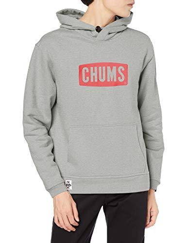 [チャムス] パーカー CHUMS Logo Pullover Parka H/Gray×Red 日本 L (日本サイズL相当)