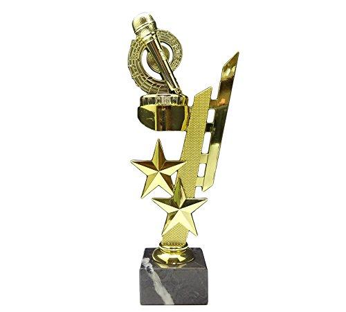 RaRu Karaoke/Musik-Pokal (Sternenhalter) mit Ihrer Wunschgravur