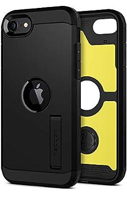 Spigen Tough Armor Designed for Apple iPhone SE 2020 Case - Black