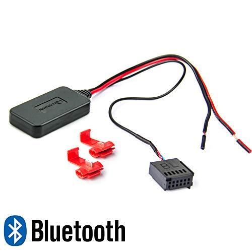 Watermark WM-BT19 Bluetooth Audio Adapter Ford C-Max, Fiesta, Focus, Fusion, Galaxy, Ka, Mondeo Aux Musik Radio Interface