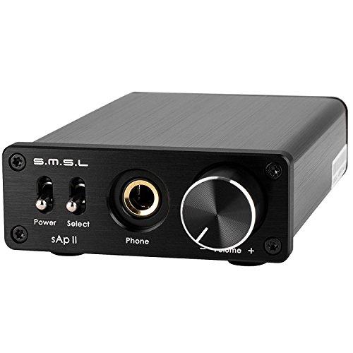SMSL SAP II - Amplificador de auriculares, color negro