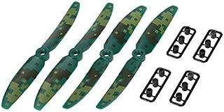 CHENJUAN 4pcs for JJRC JJPRO-5030 2-Blade Camouflage Propeller for QAV250 QAV280 RC FPV Racing Drone Spare RC Part Spare P...