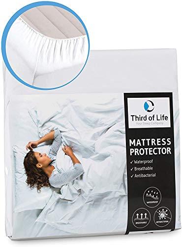 Matratzenschutz 50x90 für Baby- und Kinderbett | Hygienische Einlage für Babybett| Wasserdichte Matratzen-Auflage | Anti-Milben Schutzbezug | Nässeschutz 50x90cm | Wasserfester Rundumbezug 50 x 90 cm