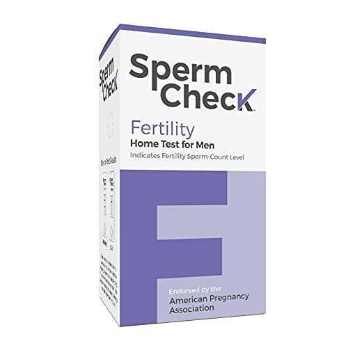 Spermcheck Fertility Home Test Kit for Men- Shows Normal or...