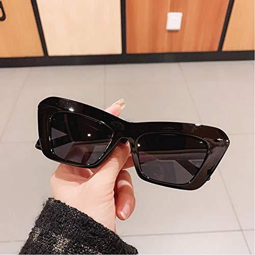 ZZOW Gafas De Sol De Ojo De Gato A La Moda para Mujer, Gafas De Color De Gelatina Vintage, Diseñador De Marca, Gafas De Sol Azules Uv400 para Hombre