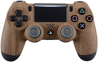 wood grain ps4 controller shell