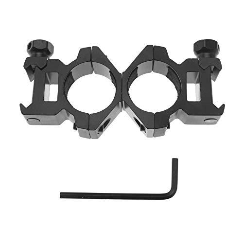 25mm Taschenlampe Ring-Einfassung 20mm Schiene Laser-Augen Gewehr Fass