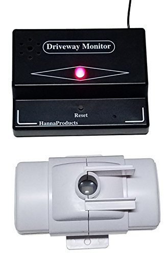 Driveway Monitor Model 1800 - Home Security Protection Both Indoors and Outdoors Feature with Variable shutters That Controls Detection Area.