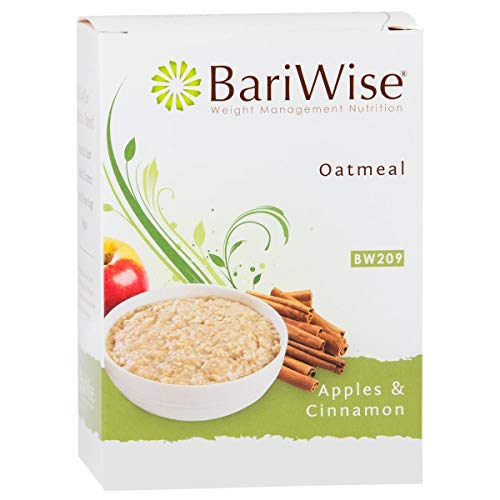 BariWise Low-Carb High Protein Oatmeal / Instant Diet Hot Oatmeals - Apples & Cinnamon - Low Carb, Low Calorie, Low Fat, Aspartame Free - 3 Box Value Pack (Save 10%)