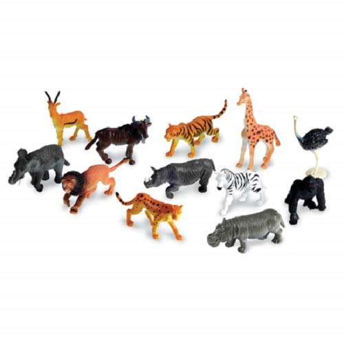 best service ae21e 7b846 Learning Resources Jungle Animal Counters, Set of 60, 12 Animals, Ages 5+