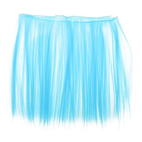 Homyl Puppenperücke DIY Puppenhaar Haarteil Haarperücke Für Blythe Dollfie Puppe, Farben zur Auswahl - Blau
