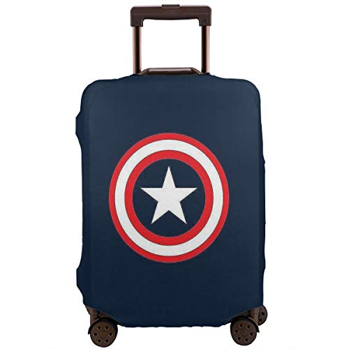 Why Should You Buy The Avengers Travel Luggage Cover Suitcase Protector Washable Baggage Covers Capt...