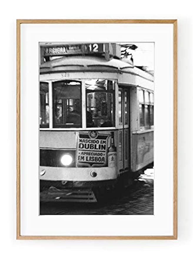 Lisbon Frame, with Mount, Multicolored, 30x40